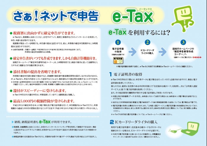 確定 申告 ホームページ 国税庁